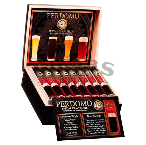 Load image into Gallery viewer, Perdomo Craft Series Stout Epicure Open Box