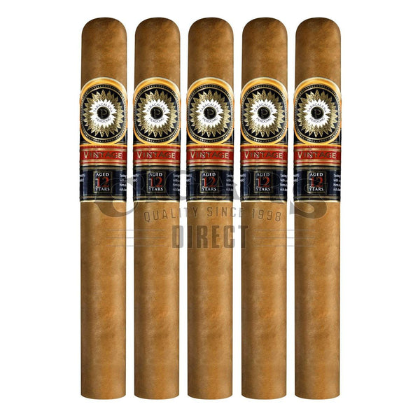 Load image into Gallery viewer, Perdomo Double Aged 12 Year Vintage Connecticut Churchill 5 Pack