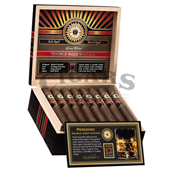 Load image into Gallery viewer, Perdomo Double Aged 12 Year Vintage Maduro Salomon Open Box