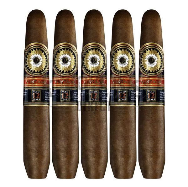 Load image into Gallery viewer, Perdomo Double Aged 12 Year Vintage Sungrown Salomon 5 Pack