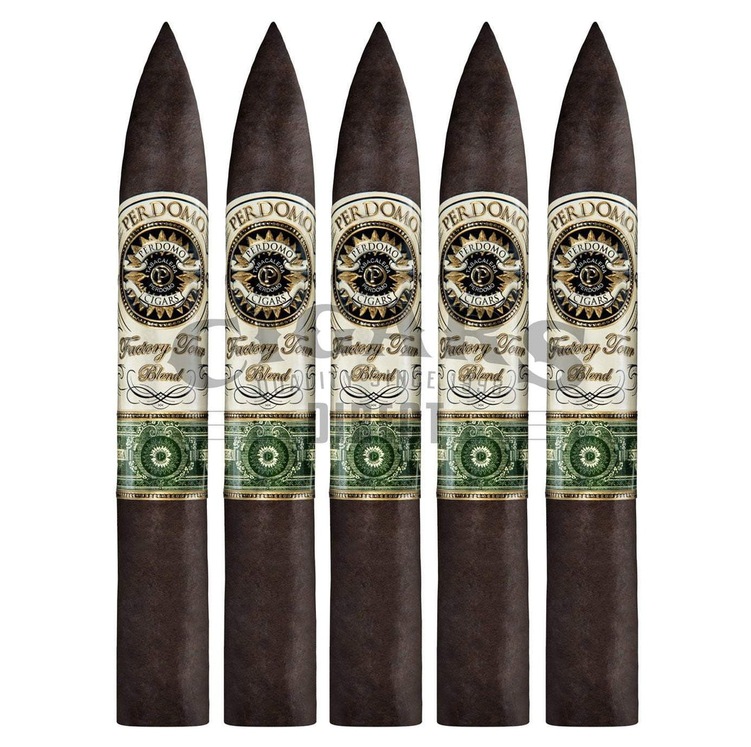 Perdomo Factory Tour Blend Maduro Torpedo 5 Pack