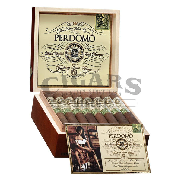 Load image into Gallery viewer, Perdomo Factory Tour Blend Maduro Torpedo Open Box