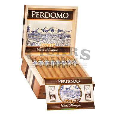 Perdomo Lot 23 Connecticut Churchill Open Box