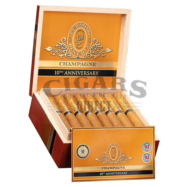 Load image into Gallery viewer, Perdomo Reserve 10th Anniversary Champagne Corona Extra Open Box