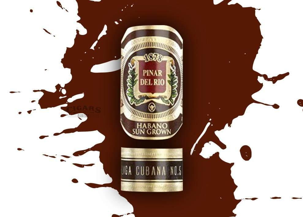 Pinar Del Rio Habano Sun Grown Double Magnum Band