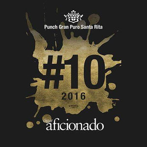Punch Gran Puro Santa Rita Robusto 2016 No.10 Cigar of The Year