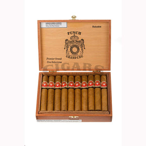 Punch Grand Cru Robusto Box Open