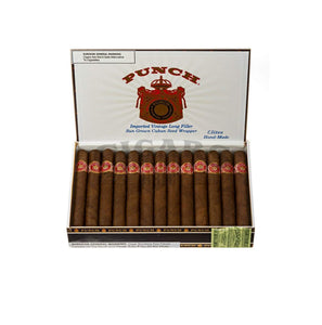 Punch Original Elites Maduro Box Open