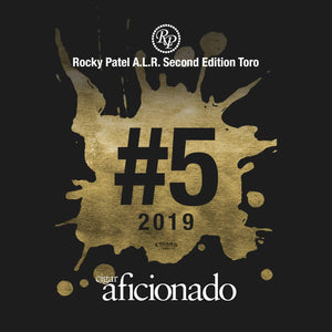 Rocky Patel A.L.R. Toro 2019 No.5 Cigar of The Year