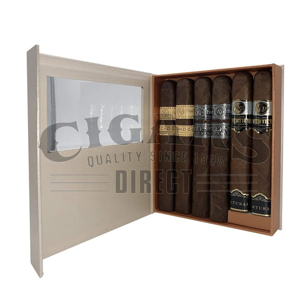 Load image into Gallery viewer, Rocky Patel Anniversary Collection Sampler Box Open