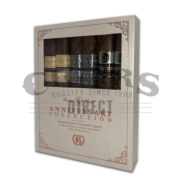Load image into Gallery viewer, Rocky Patel Anniversary Collection Sampler Box Closed