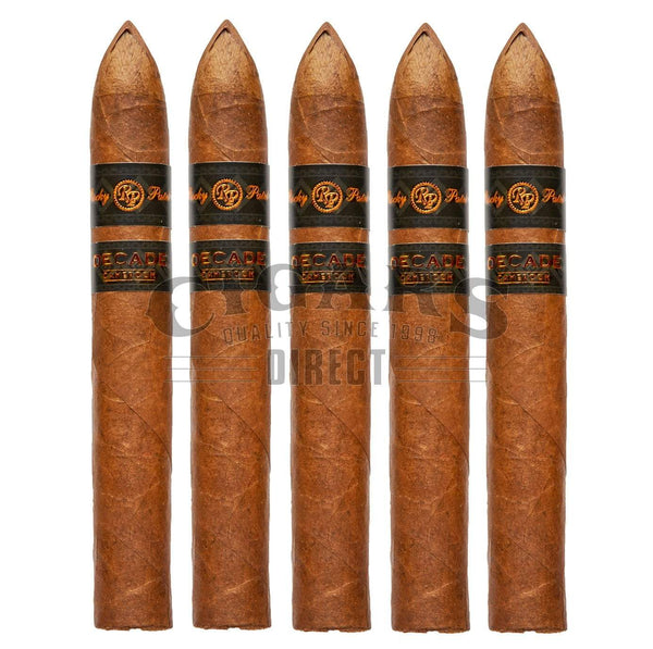 Load image into Gallery viewer, Rocky Patel Decade Cameroon Torpedo 5 Pack