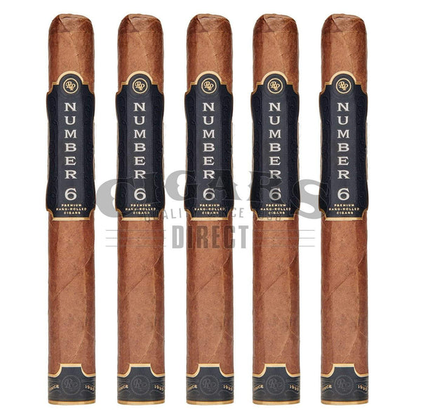 Load image into Gallery viewer, Rocky Patel Number 6 Corona 5 Pack