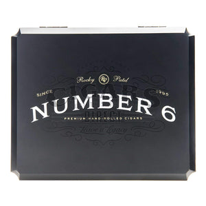 Rocky Patel Number 6 Shaggy Foot Closed Box