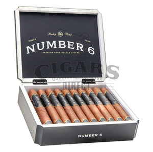 Rocky Patel Number 6 Shaggy Foot Opened Box