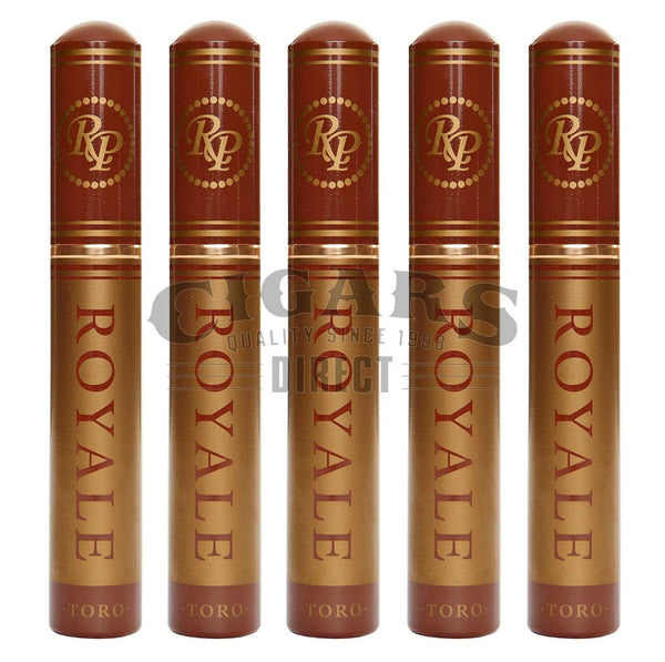 Load image into Gallery viewer, Rocky Patel Royale Toro Tubo 5 Pack