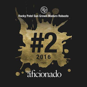 Rocky Patel Sungrown Maduro Robusto 2016 No.2 Cigar of The Year
