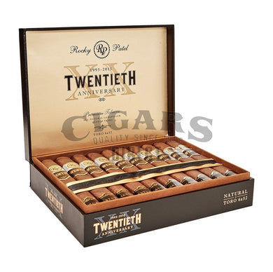 Rocky Patel Twentieth Box Pressed Toro Opened Box