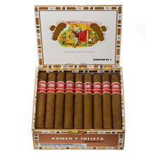 Load image into Gallery viewer, Romeo Y Julieta 1875 Exhibicion No.3 Box Open