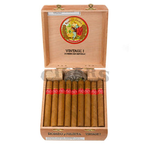 Romeo Y Julieta Vintage No.1 Box Open