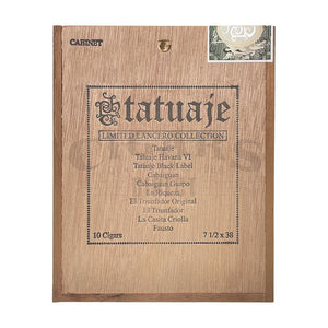 Tatuaje Limited Lancero Collection Sampler