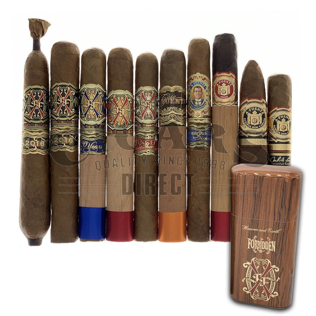 Arturo Fuente Ultimate Fuente Friday Sampler With Rosewood Case