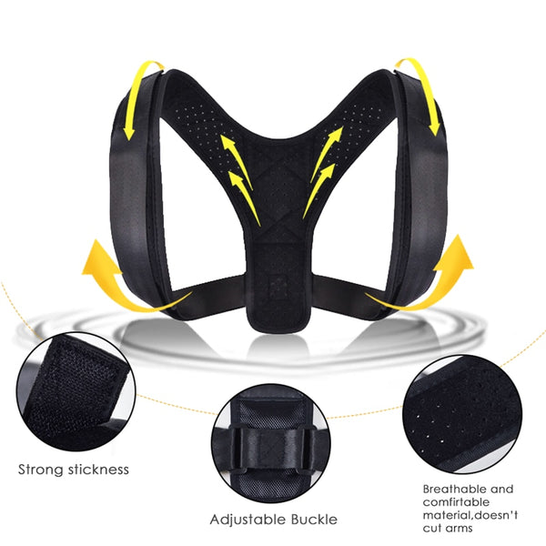 Posture Correction Adjustable Back Support Belt