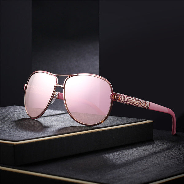 Lady Sunglasses Slim Frame Summer Eyewear With Box