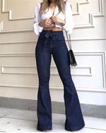 Ultra-Stretch Bootcut Wide Leg Jeans Pants
