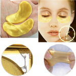 20 Pair 24K Gold Crystal Collagen Eye Mask Dark Circle Eye Patches