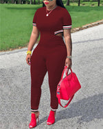 Women Casual Urban Sport Solid Jumpsuit Bottoms
