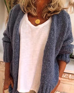 Women Casual Plus Size Sweater Cardigan