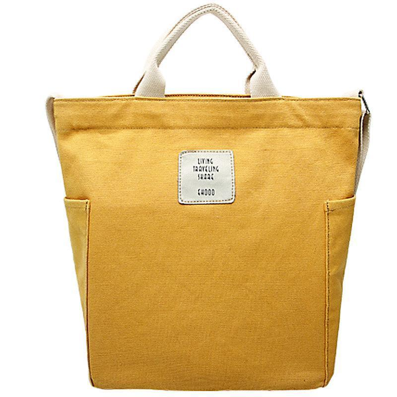 New High Quality Large-capacity Canvas Messenger Bag Tote Bag