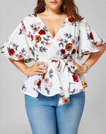 Plus Size Women Print  Clothes