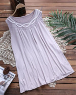 Summer Crew Neck Casual Solid Color Tanks Tops