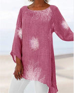 Dandelions Plus Size Summer Women Holiday Blouse