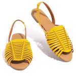 NEW STRAPPY FLAT BALLERINA SLIP-ON WOMEN SNADALS