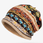 Winter Warm Cotton Tribal Vintage Hats