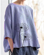3/4 Sleeve Women New Casual Lady Daily Shift Tops