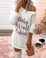 Baby It's Cold Outside Mini Dress
