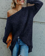 Women Tops Sweaters Knitted Pullovers