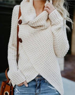 Women Fashion Long Sleeve Kintted Autumn Winter Sweater