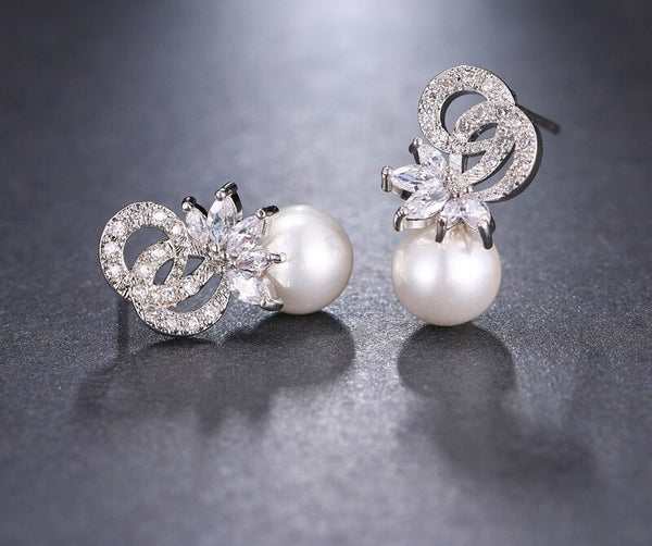 Tying the Knot Bridal Earrings