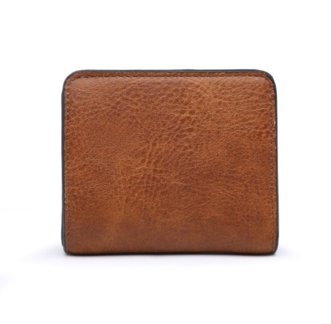 Brown RDIF wallet