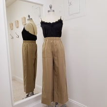 Load image into Gallery viewer, Caramel wide leg pant