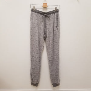 brushed knit jogger bottoms