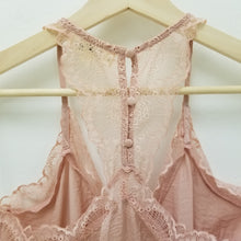 Load image into Gallery viewer, Blush lace cami with racer back
