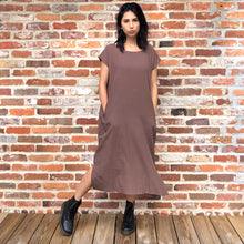 Load image into Gallery viewer, The Matilda Smock Midi Dress