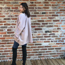 Load image into Gallery viewer, Maisie- dusty mauve cardigan sweater with pockets