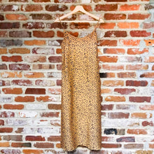 Load image into Gallery viewer, Betty leopard abstract print camisole dress